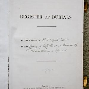 RI Burial Register