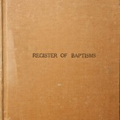 Rickinghall Superior and Inferior baptism register