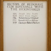 Rectors, Combined benefice